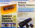 Streetwize Helmet Sports Video Camera With LED Torch - Grasshopper Leisure